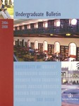 Undergraduate Bulletin of the University of San Diego 2006-2008 by University of San Diego