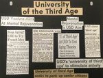 Guide to the University of the Third Age records by University of San Diego, University of the Third Age