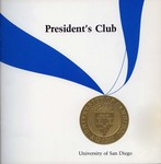 Guide to the President's Club records by University of San Diego Office of Public Relations
