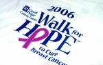 Guide to the Walk for Hope to Cure Breast Cancer collection