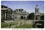 Dublin, Ireland - The Front Square, Trinity College