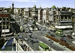 Dublin, Ireland - O'Connell Street and Bridge, showing Nelson's Pillar