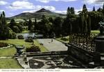 Enniskerry, Coutny Wicklow, Ireland - Powerscourt Garden, and Sugar Loaf Mountain