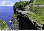 County Clare,  Cliffs of Moher, near Lahinch