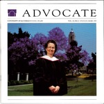 Advocate 1993 volume 10 number 2 by Office of Development and Alumni Affairs, USD School of Law