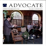 Advocate 1994/1995 volume 12 number 1 by Office of Development and Alumni Affairs, USD School of Law