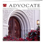 Advocate 1995/1996 volume 13 number 1 by Office of Development and Alumni Affairs, USD School of Law