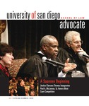 Advocate 2003 volume 20 number 1 by Office of Development and Alumni Affairs, USD School of Law