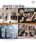 Advocate 2003-2004 volume 20 number 2 by Office of Development and Alumni Affairs, USD School of Law