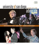 Advocate 2004 volume 21 number 1 by Office of Development and Alumni Affairs, USD School of Law