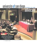 Advocate 2005 volume 21 number 2 by Office of Development and Alumni Affairs, USD School of Law