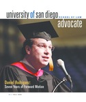 Advocate 2005 volume 22 number 1 by Office of Development and Alumni Affairs, USD School of Law