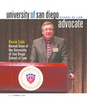 Advocate 2006 volume 23 number 1 by Office of Development and Alumni Affairs, USD School of Law