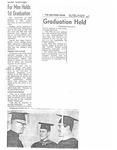1st University of San Diego School of Law Commencement Program, 1958