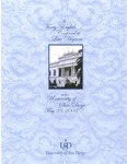 48th University of San Diego School of Law Commencement Program, 2005 by University of San Diego School of Law