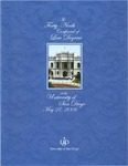 49th University of San Diego School of Law Commencement Program, 2006 by University of San Diego School of Law