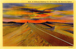 United States – California – A California Highway – U.S. 80 Crossing the American Sahara