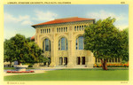 Library, Stanford University, Palo Alto, California