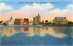 United States – California – Long Beach – Skyline from Rainbow Pier