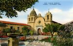 San Carlos Mission.  Carmel, California