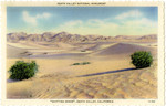 """United States – California – Death Valley National Monument – """"Shifting Sands"""""""