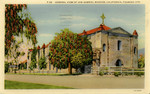General View of San Gabriel Mission, California, Founded 1771