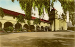 Santa Barbara Mission, Founded 1786.  Santa Barbara, California