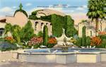 Front Garden, Mission San Juan Capistrano, California