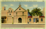 United States – California – Los Angeles – Our Lady Queen of Angels Old Mission Plaza Church