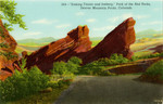 """Sinking Titanic and Iceberg,"" Park of the Red Rocks, Denver Mountain Parks, Colorado"