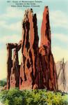 Ruins of Montezumas Temple, Garden of the Gods, Pikes Peak Region, Colorado