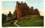 Red Rocks at Entrance to Boulder Cañon - Boulder, Colorado