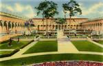 Inner Court of Ringling Art Museum, Sarasota, Florida