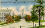 Main Entrance, Boston College, Chestnut Hill, Massachusetts