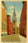 Old North Church, Built 1723. Boston,  Massachusetts - Where the Signal Lantern of Paul Revere was hung