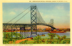 Ambassador Bridge, Windsor, Canada to Detroit