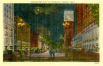 Washington Boulevard by Moonlight, Michigan