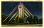Charity Tower at the Shrine of the Little Flower, by Illumination, Royal Oak, Michigan