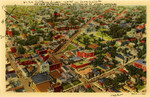 Air View Showing Central Section of Saint Joseph, Missouri