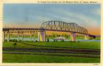 Saint Joseph Free Bridge over the Missouri River, Saint Joseph, Missouri