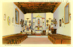 Interior of Old Church of Saint Augustine, Isleta, New Mexico