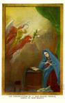 The Annunciation No. 2 - San Miguel Church, Santa Fe, New Mexico
