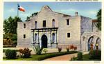 The Alamo, Built 1718 - San Antonio, Texas