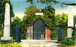George Washington's Tomb - Mount Vernon, Virginia