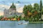 Saint Josaphat Basilica and School from Kosciuszko Park - Milwaukee, Wisconsin