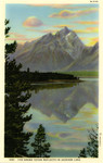 The Grand Teton Reflects in Jackson Lake
