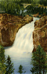 Upper Falls of the Yellowstone, Yellowstone National Park