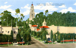 Plaza De Panama and California Tower, Balboa Park, San Diego, California