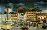 United States – California – San Diego – Night View of Plaza