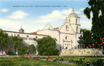 United States – California – Mission San Luis Rey near Oceanside, California